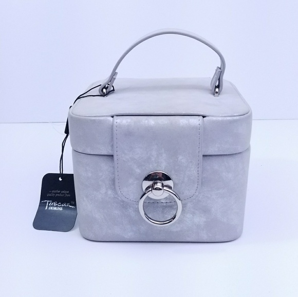 Tuscan Designs Other NWT Tuscan Designs Travel Jewelry Box Silver